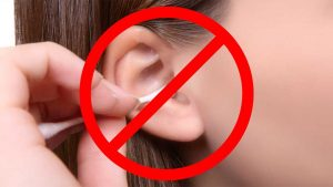 Stop using cotton swabs in your Ways To Protect Ears