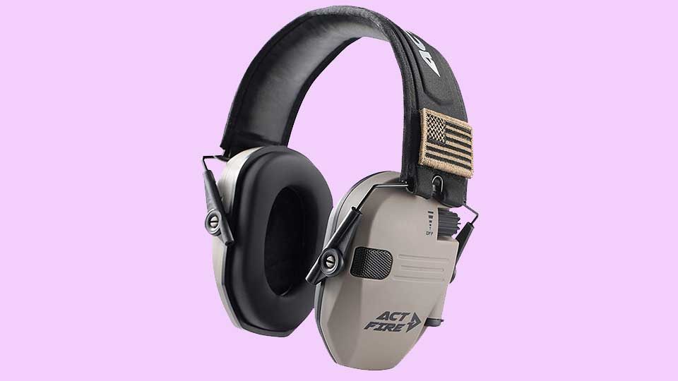 ACT FIRE Ear Protection for Shooting